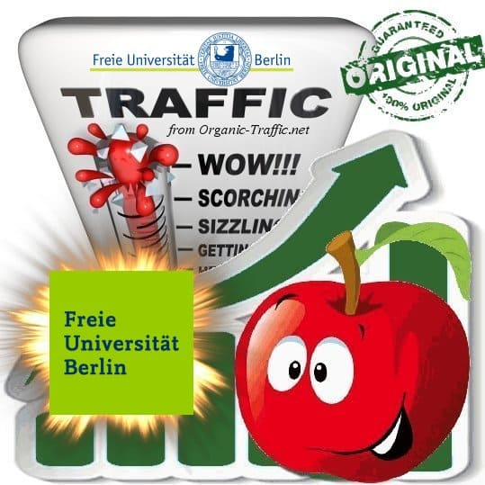 Buy Website Traffic FU-Berlin.de