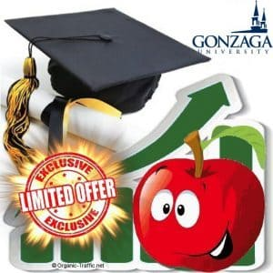 Buy Web Traffic Gonzaga.edu