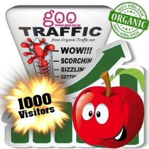 buy 1000 goo organic traffic visitors