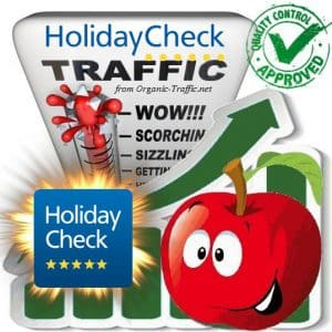 Buy HolidayCheck.de Website Traffic