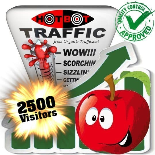 hotbot search traffic visitors 2500