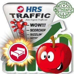 Buy Website Traffic from HRS.de