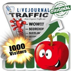 buy 1000 livejournal social traffic visitors