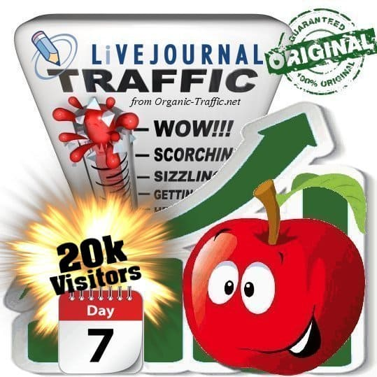 buy 20.000 livejournal social traffic visitors 7 days