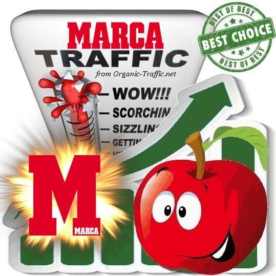 Buy Web Traffic - Marca.com