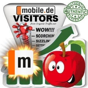 Buy Mobile.de Website Traffic