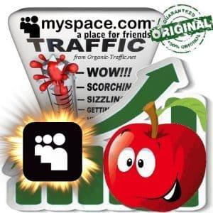 Buy MySpace.com Web Traffic