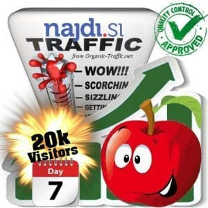 buy 20.000 najdi.si search traffic visitors within 7 days