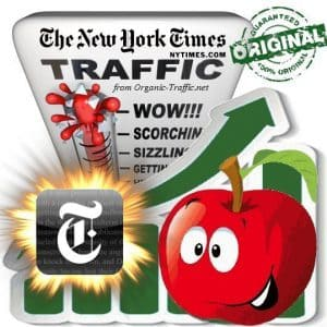 Buy New York Times Referral Web Traffic