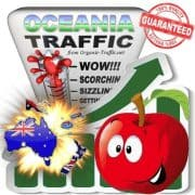 Oceania Web Traffic Service