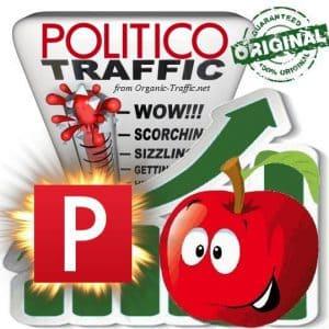Buy Web Traffic - Politico.com