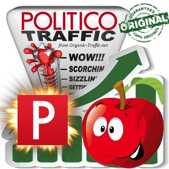 Buy Web Traffic - Politico.com