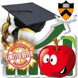buy princeton university traffic visitors