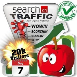 buy 20.000 search.ch traffic visitors 7 days