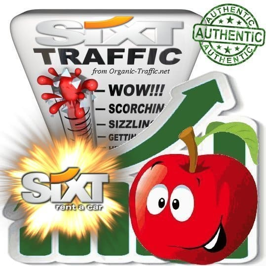 Buy Targeted Traffic from Sixt.de