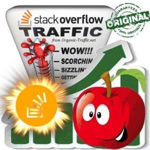 Buy Stack Overflow Referral Web Traffic