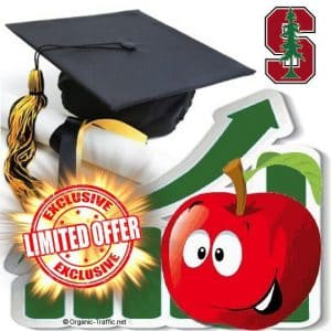 buy stanford university traffic visitors