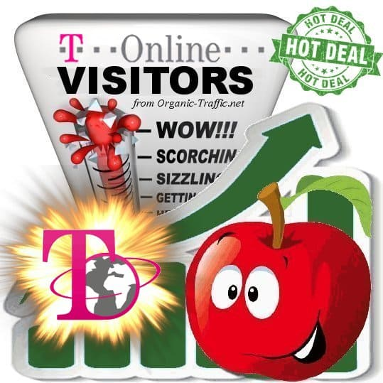 Buy T-Online Website Traffic