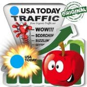 Buy USAtoday.com Web Traffic