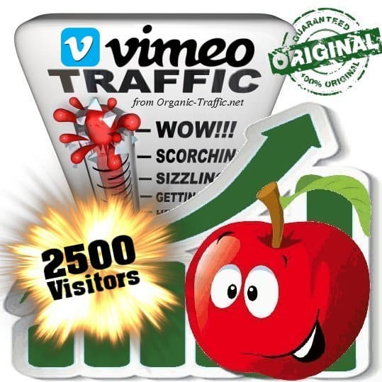 buy 2500 vimeo social traffic visitors