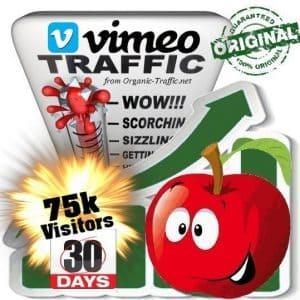 buy 75k vimeo social traffic visitors in 30 days