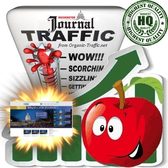 Buy Washington Journal Web Traffic