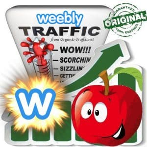 Buy Weebly.com Web Traffic