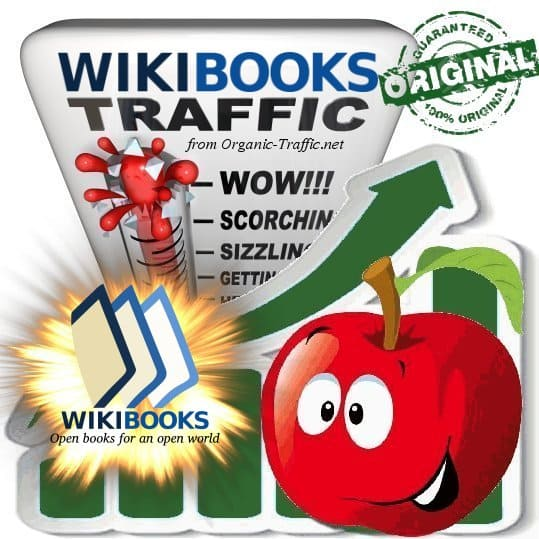 Buy Wikibooks.org Web Traffic Service