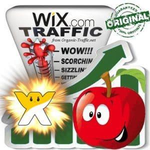Buy Wix.com Web Traffic