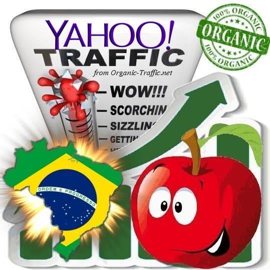 Yahoo Brasil Web Traffic