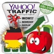 Yahoo Deutschland Web Traffic Service