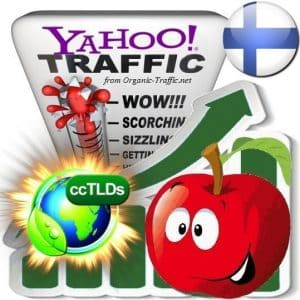 buy yahoo finland organic traffic visitors