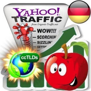 buy yahoo germany organic traffic visitors