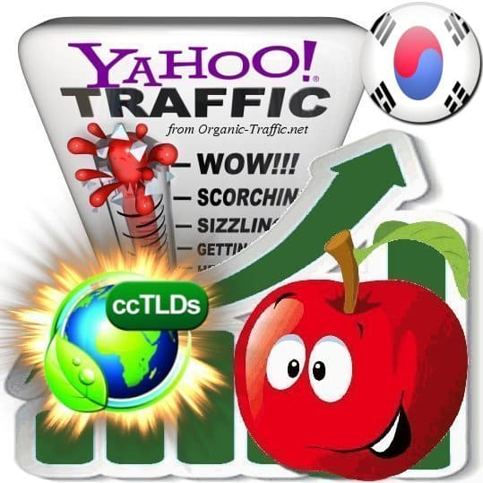 buy yahoo korea organic traffic visitors