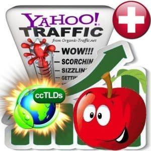 buy yahoo switzerland organic traffic visitors