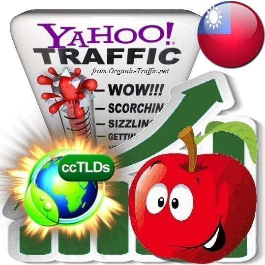 buy yahoo taiwan organic traffic visitors