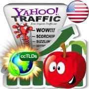 buy yahoo united states organic traffic visitors