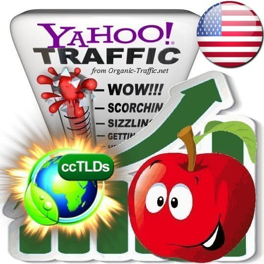 buy yahoo united states organic traffic visitors