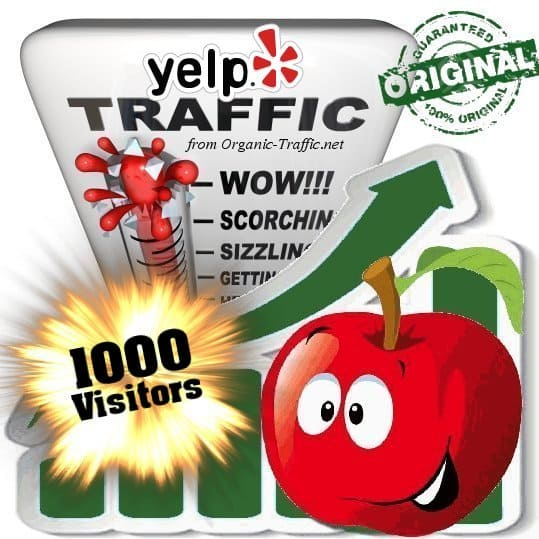 buy 1000 yelp social traffic visitors