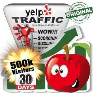 buy 500k yelp social traffic visitors in 30 days