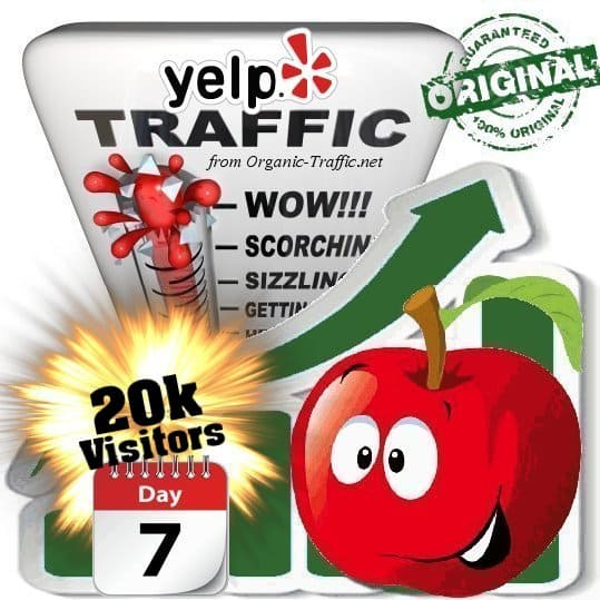 buy 20k yelp social traffic visitors 7 days