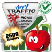 buy 2500 yippy search traffic visitors