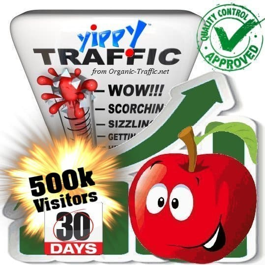 buy 500.000 yippy search traffic visitors in 30 days