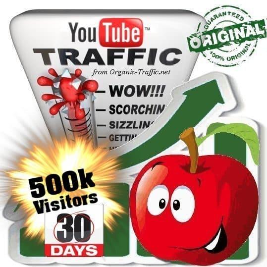 buy 500k youtube social traffic visitors in 30 days
